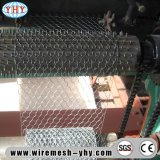 Engranzamento galvanizado revestido PVC do Hex do fio 1/2 das aves domésticas