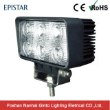 Lumière fonctionnante de la qualité 4.5inch 18W DEL pour tous terrains (GT1011-18W)