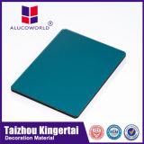 Alucoworld выбрало многослойный покров ACP материала покрынный PVDF алюминиевый