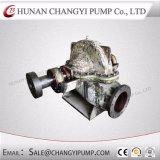 Pompe à eau centrifuge d'eaux d'égout fendues de cas