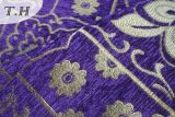 남 아메리카를 위한 자주색 셔닐 실 색깔 셔닐 실 소파 직물