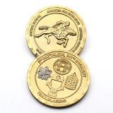 Barato al por mayor de metal estampado personalizado de juguete Sur monedas de oro pirata