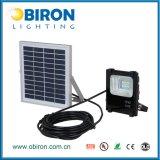 Proiettore di energia solare LED del cortile 10W