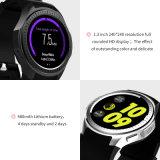 L1 Quartz Leather Sport Chronographスマートな腕時計のステンレス鋼のパイロットのカスタムロゴ王の手首の水晶腕時計