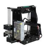 Impressora do filamento do tamanho 220X220X250mm A6 Anet 3D da cópia da elevada precisão