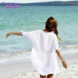 Neuestes Entwurf 2018 Roamer Spiel-weißes Strand-Kleid Thailand