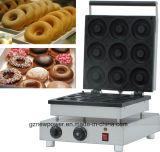 9 PCS Manual em aço inoxidável Dount Comercial máquina de fazer Mini Donut Maker