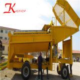 De alluviale Gouden Zeeftrommel van de Terugwinning van de Installatie van de Was Gouden van Fabriek