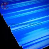 Painéis translúcidos de plástico reforçado por fibra de placa da luz de teto de Papelão Ondulado painel solar