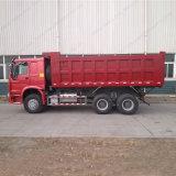 Euro2 Sinotruk HOWO 6X4 371HP 덤프 팁 주는 사람 트럭