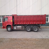 Sinotruk HOWO 6X4 371HP 덤프 또는 쓰레기꾼 트럭 팁 주는 사람 트럭