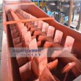 Registro de arcilla en espiral arandela para máquina de minerales de arcilla pegajosa