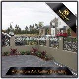 Feuille de Métal perforé décoratifs en aluminium panneaux de clôture de sécurité