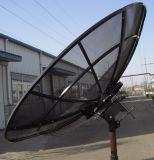 2.1 ricevente parabolica dell'antenna di piatto della maglia di alluminio esterna di Digitahi della televisione via satellite della fascia di 2.4m C Ku