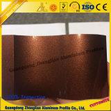 Profil en aluminium d'extrusion pour le profil en cristal d'électrophorèse de surface d'électrophorèse