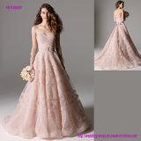 Работа картины Rouched повсеместно в платье венчания юбки