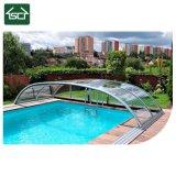 중국 공급자 옥외 별장 수영풀을%s 철회 가능한 수영장 덮개