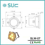 3With6W Unterwasserbeleuchtung des Messing-DC12V LED