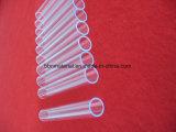 Tubo di vetro trasparente del quarzo della fessura di elevata purezza per il riscaldamento