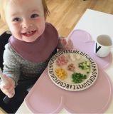 Baby Placemat bewegliche Kinder, die kundenspezifisches Silikon Placemat speisen