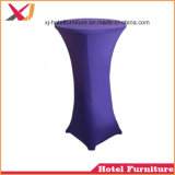 コーヒーのための強いスパンデックスの低い小テーブルの布かレストランまたはホテルまたは宴会または結婚式