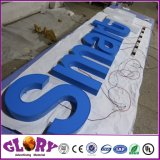 3D Carta assinar e resina Signages Sinal do canal do LED