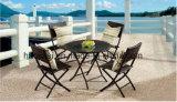 屋外の/Rattan/庭は/テラス/ホテルの家具の藤椅子及び表セットした(HS1260C &HS1260DT)