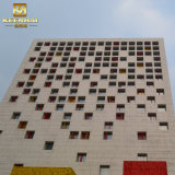 외부 Pefrorated 금속 위원회 알루미늄 외벽