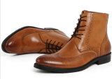Наградной пец ноги людей кожи коровы полированный кожей Boots способ