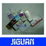escrituras de la etiqueta y rectángulos olográficos del frasco del laser 10ml
