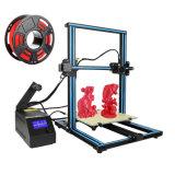RICHOOSE CR10S 3D-принтер DIY комплект с 1 кг PLA большой размер печати 300x300x400мм нити два монитора по оси Z T болт тяги