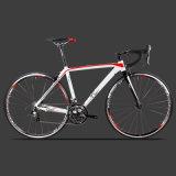 bici di alluminio di corsa di strada di 700c 18speed con la forcella della fibra del carbonio