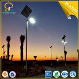 Indicatore luminoso solare eccellente della strada di luminosità 50W LED con 8mtrs Palo