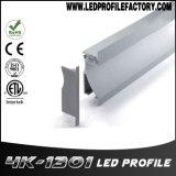 Pn4130 벽 세탁기 알루미늄 밀어남 LED 단면도
