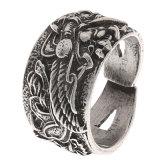 Norse van de juwelen van mensen de Grote Grootte van de Ring van de Mensen van Norde Vigisr van de Ring van de Draak van Vikingen
