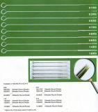 棒の使い捨て可能な入れ墨の針の円形のShaderの殺菌した針