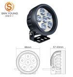 luz del trabajo de la luz 12V 24V LED del trabajo de 18W LED, Ce, luz del trabajo de RoHS LED de la luz de conducción del camino