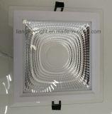 Vierkante LEIDENE van de MAÏSKOLF van de MAÏSKOLF Aluminum+Glass 15W Panellight Downlight