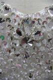 Venda por grosso de cristais de personalizar a esfera Bodice Beca Suite vestidos de casamento barato