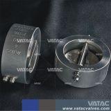 API Vatac/DIN La oblea de la placa de doble válvula de retención de acero fundido