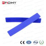 柔らかいシリコーンUHF RFIDの洗濯の札