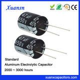 Condensatore elettrolitico standard di 450V 47UF per il caricatore