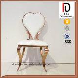최신 현대 황금 결혼식 스테인리스 의자 거실 의자