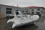 Liya 660のLeisuringのための贅沢で堅く膨脹可能な乗客の肋骨のボート