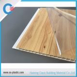 панель стены PVC панели потолка PVC 250*7.5mm деревянная горячая штемпелюя