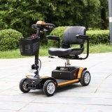 휴대용 건전지 24V 250W 모터 4 바퀴 신체 장애자를 위한 전기 기동성 스쿠터