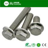 ステンレス鋼が付いている熱い販売DIN6921 A2 A4の六角形のフランジのボルト
