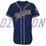 デザイン方法ブランクの野球のジャージーの最新の服(B015)