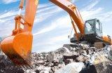 Excavador de la correa eslabonada de 21 toneladas con el motor famoso de la marca de fábrica