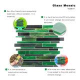Mattonelle di mosaico decorative esterne di vetro macchiato dell'italiano da vendere